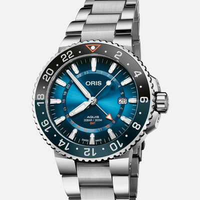 Oris Aquis GMT Carysfort Reef Limited Edition On Bracelet alternate image.