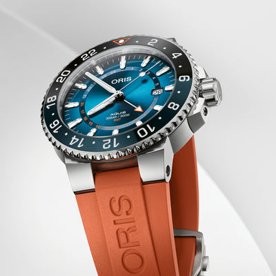 Oris Aquis GMT Carysfort Reef Limited Edition On Rubber Strap alternate image.