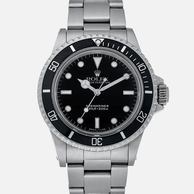 1989 Rolex Submariner Reference 5513 With Box