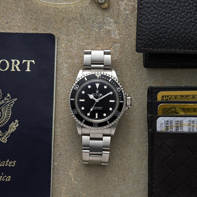 1989 Rolex Submariner Reference 5513 With Box alternate image.