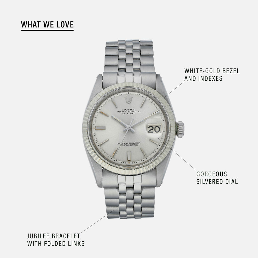1963 Rolex Datejust Reference 1601