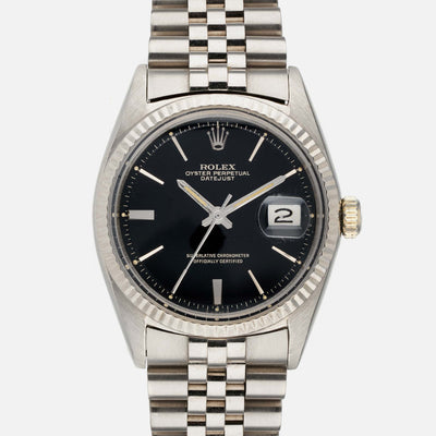 1965 Rolex Datejust Reference 1601 In White Gold