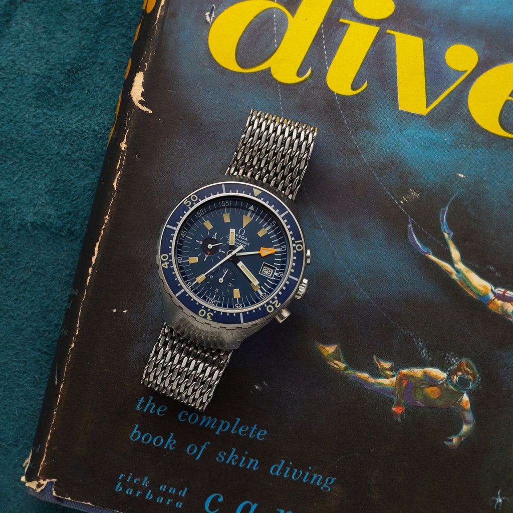 1970s Omega Seamaster Automatic 120 'Big Blue' Reference 176.004