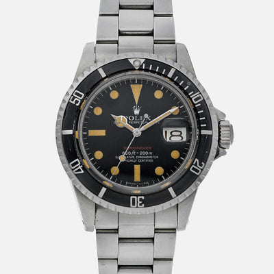 1973 Rolex 'Red' Submariner Reference 1680