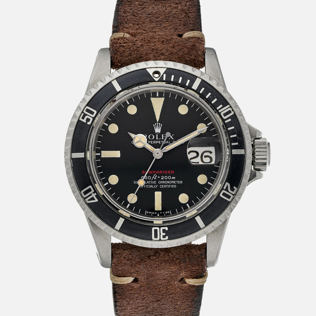1970 Rolex 'Red' Submariner Reference 1680