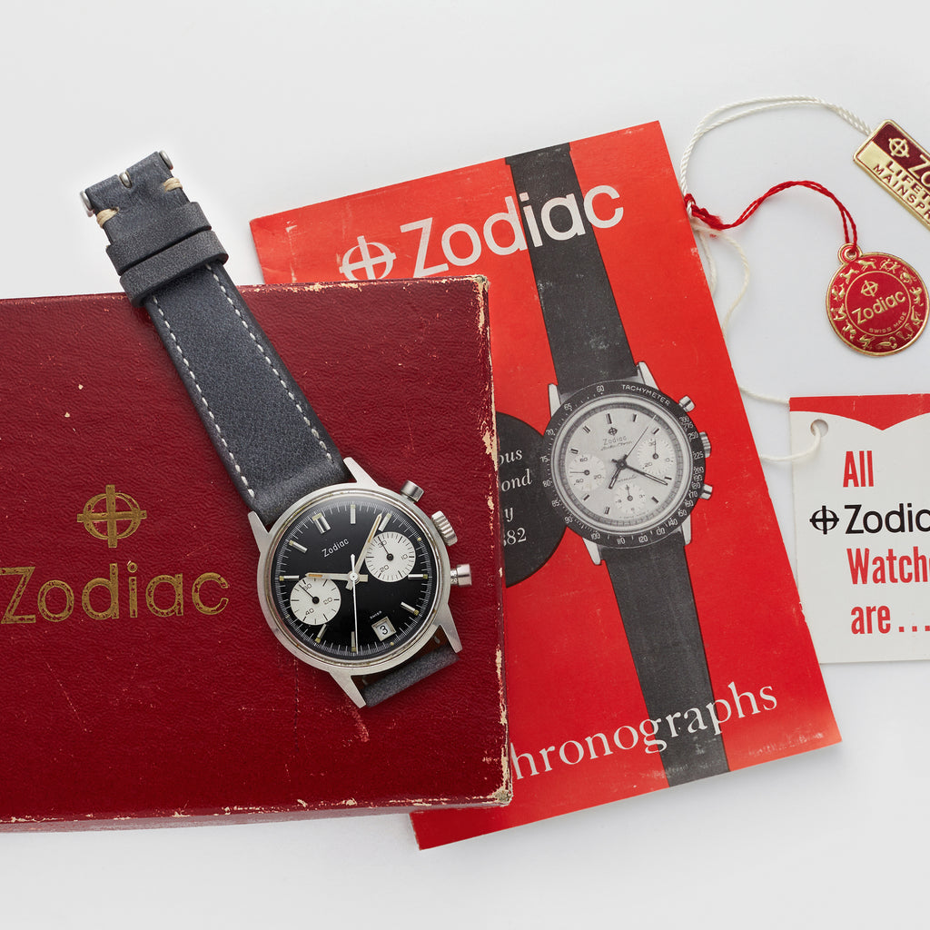 1960s Zodiac Chronograph Reference 7823