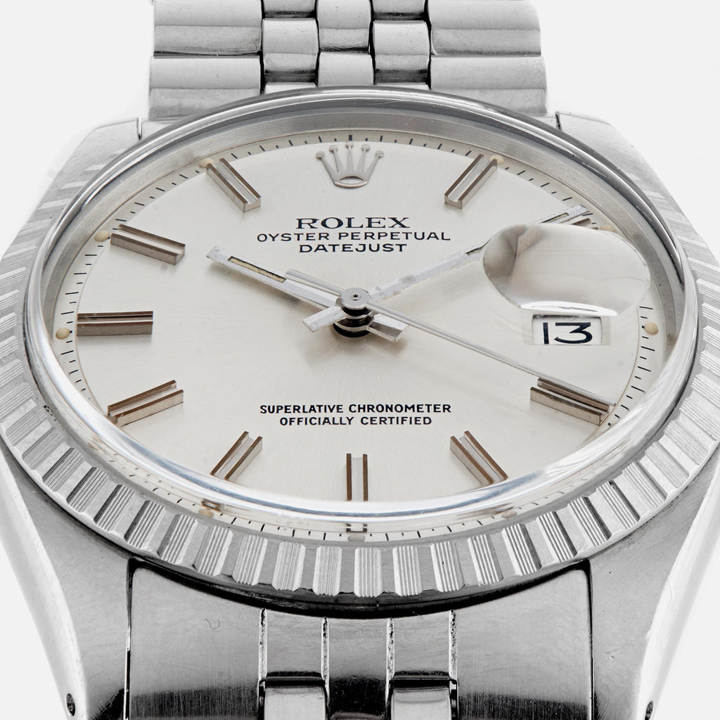 1970s Rolex Datejust Wide Boy Style Reference 1603