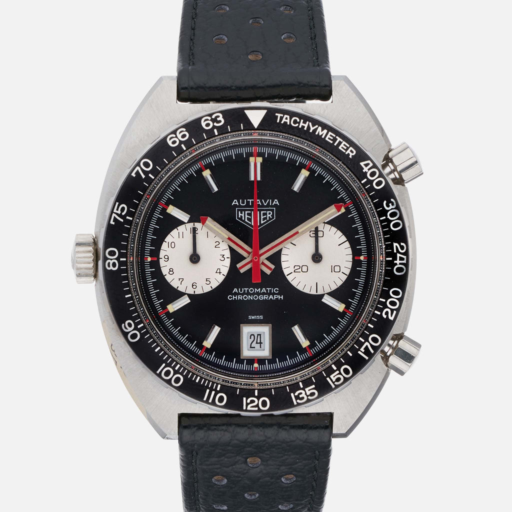 1970s Untouched Heuer Autavia Reference 1163