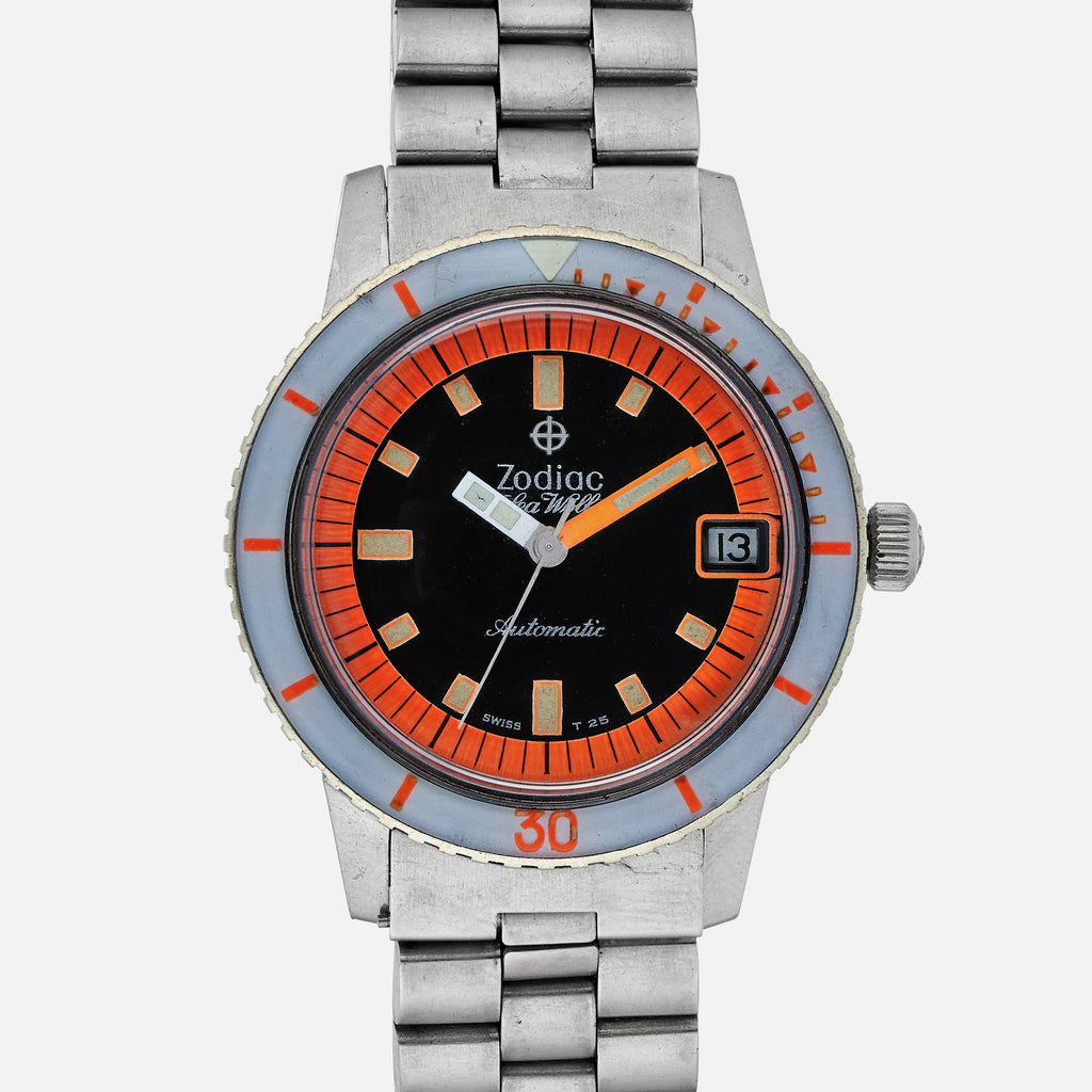 1960s Zodiac Sea Wolf Orange Exotic
