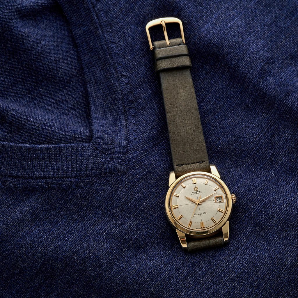 1960s Omega Seamaster Gold-Plated Reference 14762
