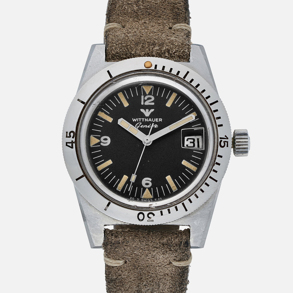 1960s Wittnauer 'Skin Diver' Reference 4000