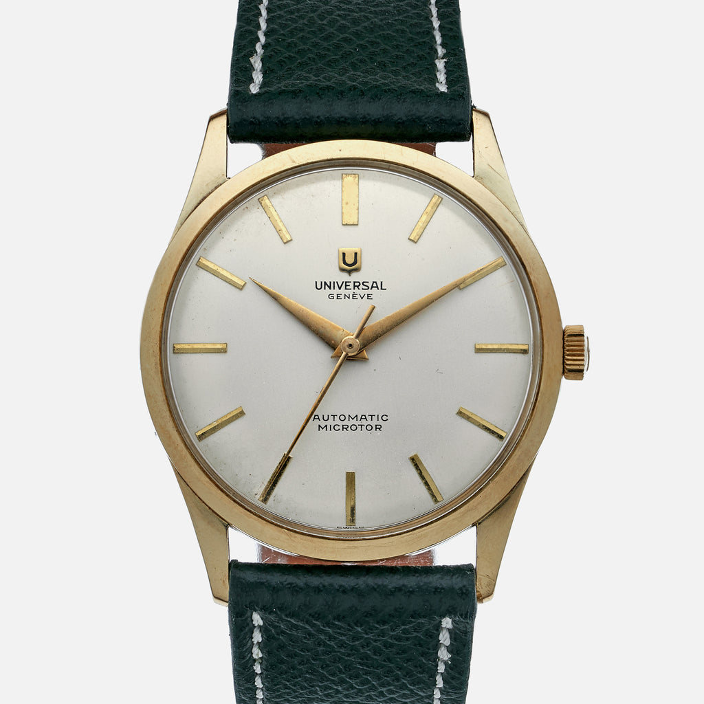 1950s Universal Genève Reference 50353-1 In 14k Yellow Gold