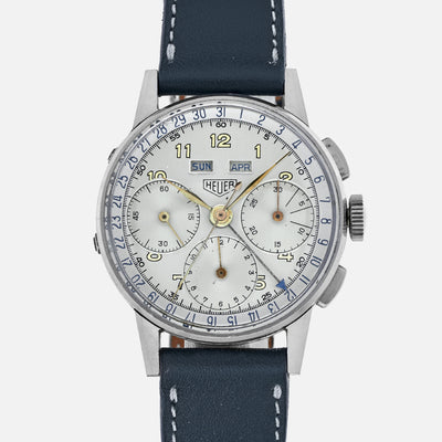 1940s Heuer Complete Calendar Chronograph Reference 2543