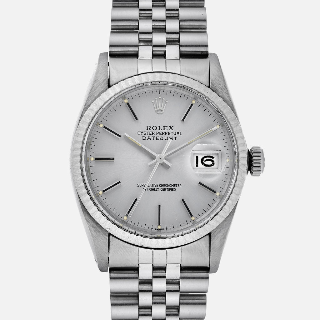 1982 Rolex Datejust Reference 16014 With Box And Papers