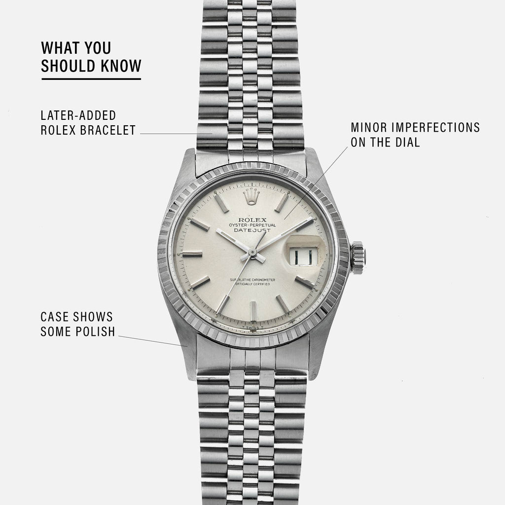 1967 Rolex Datejust Reference 1603 With Papers