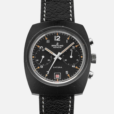 1970s Breitling Datora Black PVD Reference 2033