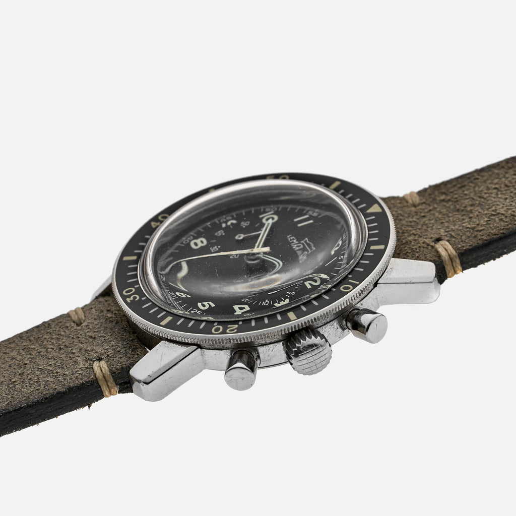 1970s Lemania 'Viggen' Chronograph Reference 817 For The Swedish Air Force