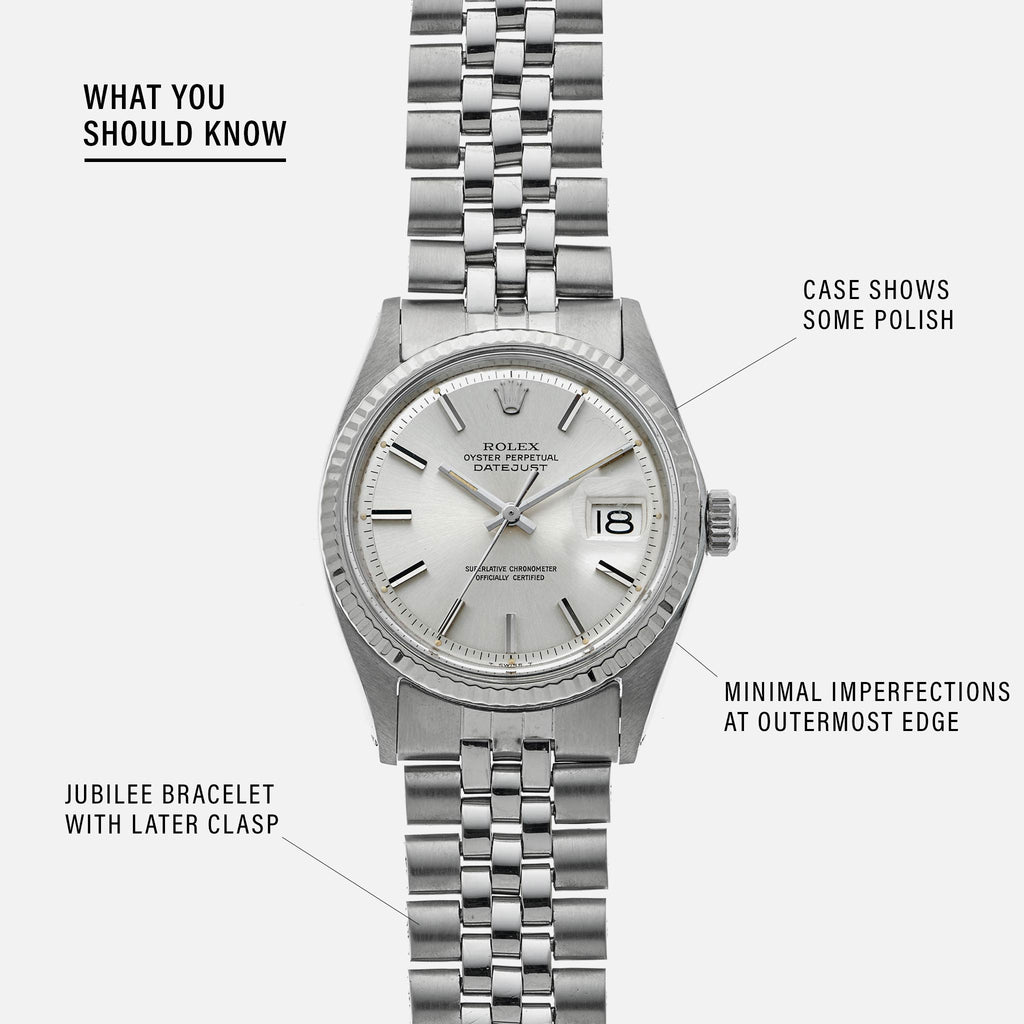 1971 Rolex Datejust Reference 1601