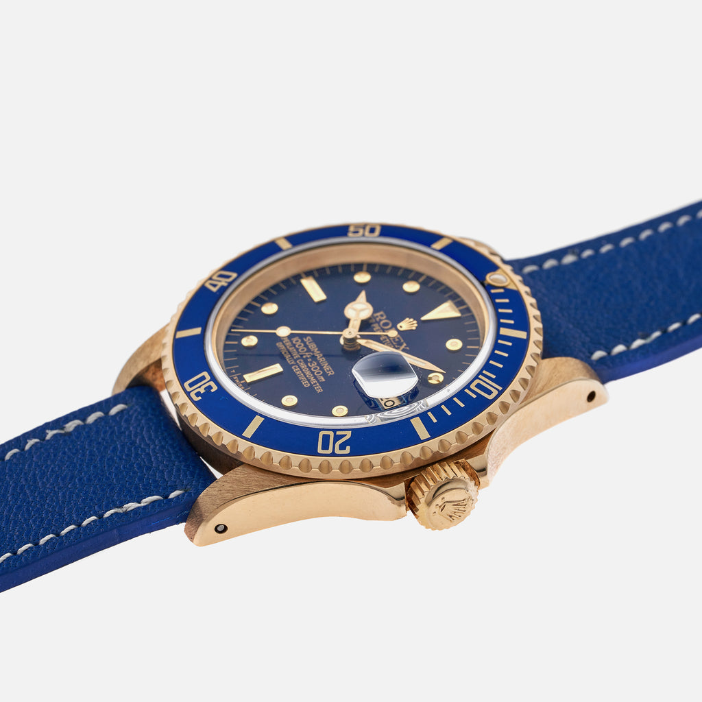 1981 Rolex Submariner Reference 16808 In Gold