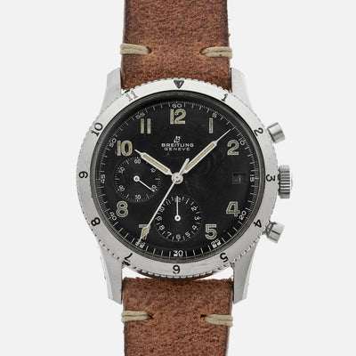 1960s Breitling AVI Reference 765 With Digital 15-minute Countdown Window