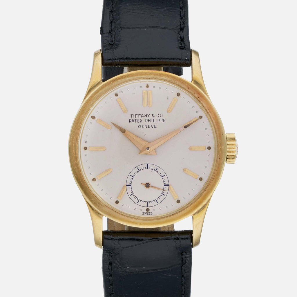 2d9cd3200672 1950s Patek Philippe Calatrava Reference 2545 With Tiffany-Signed Dial -  HODINKEE Shop