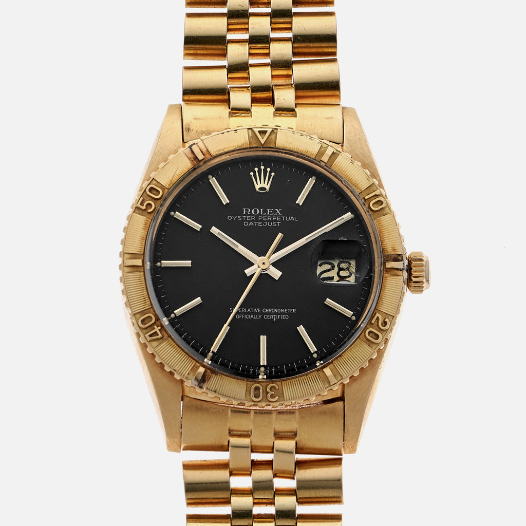 1972 Rolex 'Thunderbird' Reference 1625 In Yellow Gold