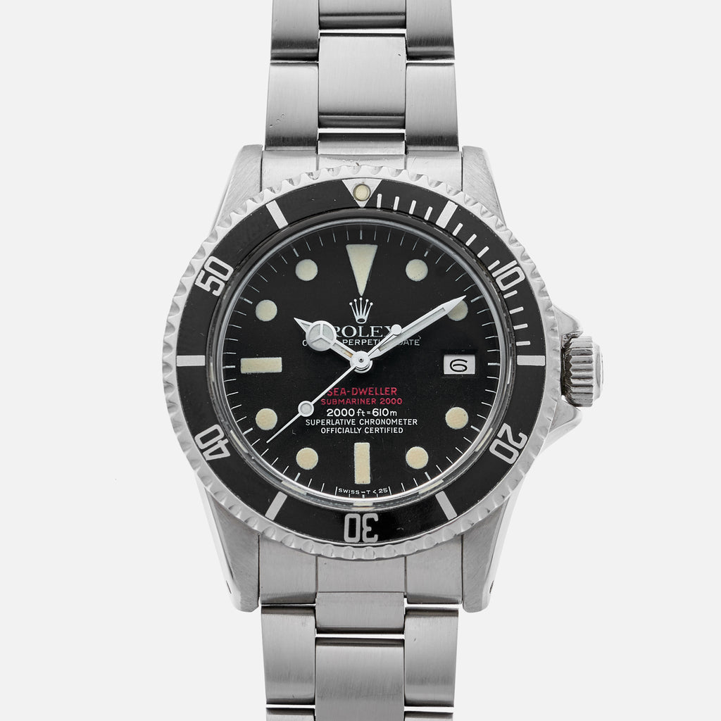 1977 Rolex 'Double Red' Sea-Dweller Reference 1665