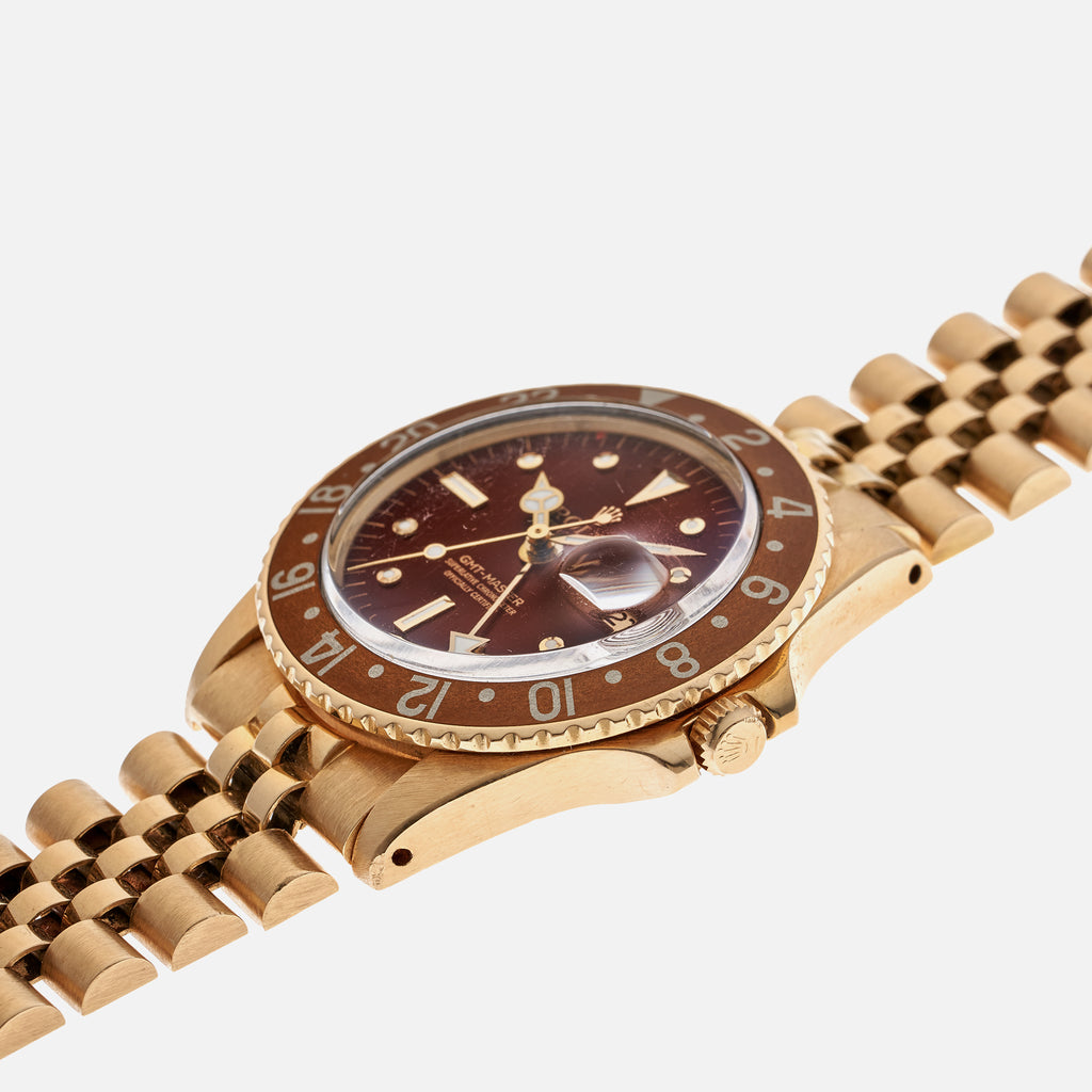 1975 Rolex GMT-Master Reference 1675 In Gold