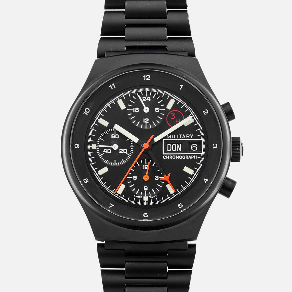 1980s Porsche Design By Orfina 'Military' Chronograph Reference 7177