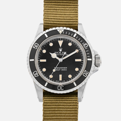 1987 Rolex Submariner Reference 5513 Full Set