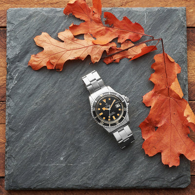 1976 Tudor Submariner Snowflake Ref. 9411/0 With 'Pumpkin' Lume alternate image.