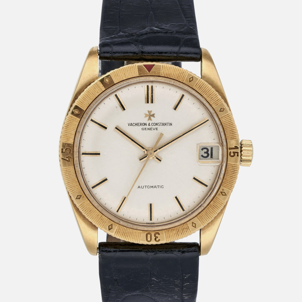1960s Vacheron Constantin Automatic Turnograph In Yellow Gold