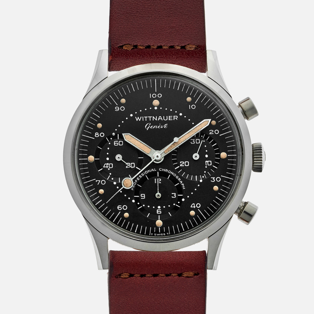 1960s Wittnauer Professional Chronograph Ref. 242T