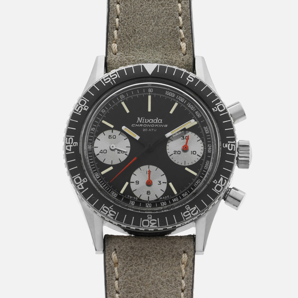 1970s Nivada Chronoking Ref. 6101/85026