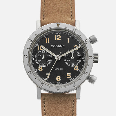 1978 Dodane Type 21 Military Flyback Chronograph