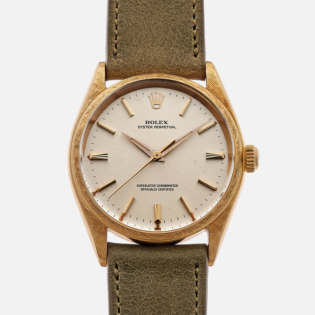 1963 Rolex Oyster Perpetual Ref. 1022 With Florentine Case Finish