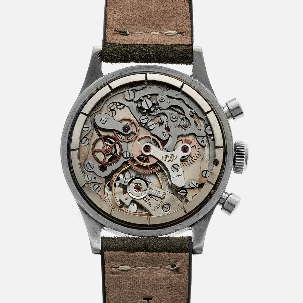 1940s Heuer 'Big Eyes' Chronograph Ref. 406