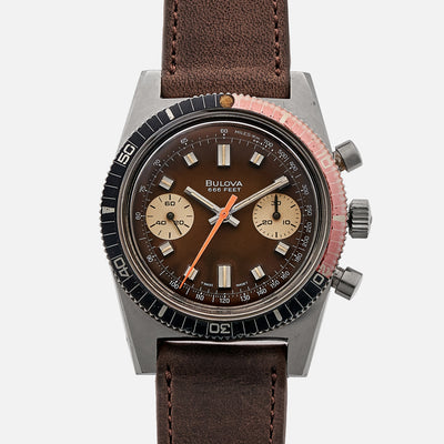 1973 Bulova Deep Sea 'B' Chronograph With Tropical Dial