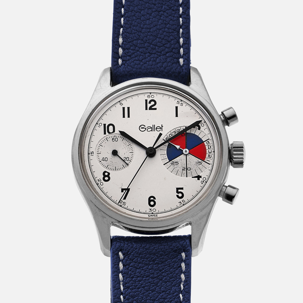 1960s Gallet MultiChron Yachting 'Big Eye' Chronograph