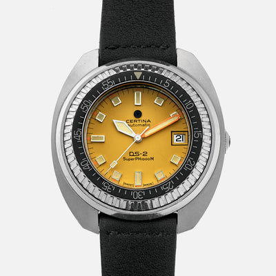 1970s Certina DS-2 SuperPH 1000M Ref. 5801.302