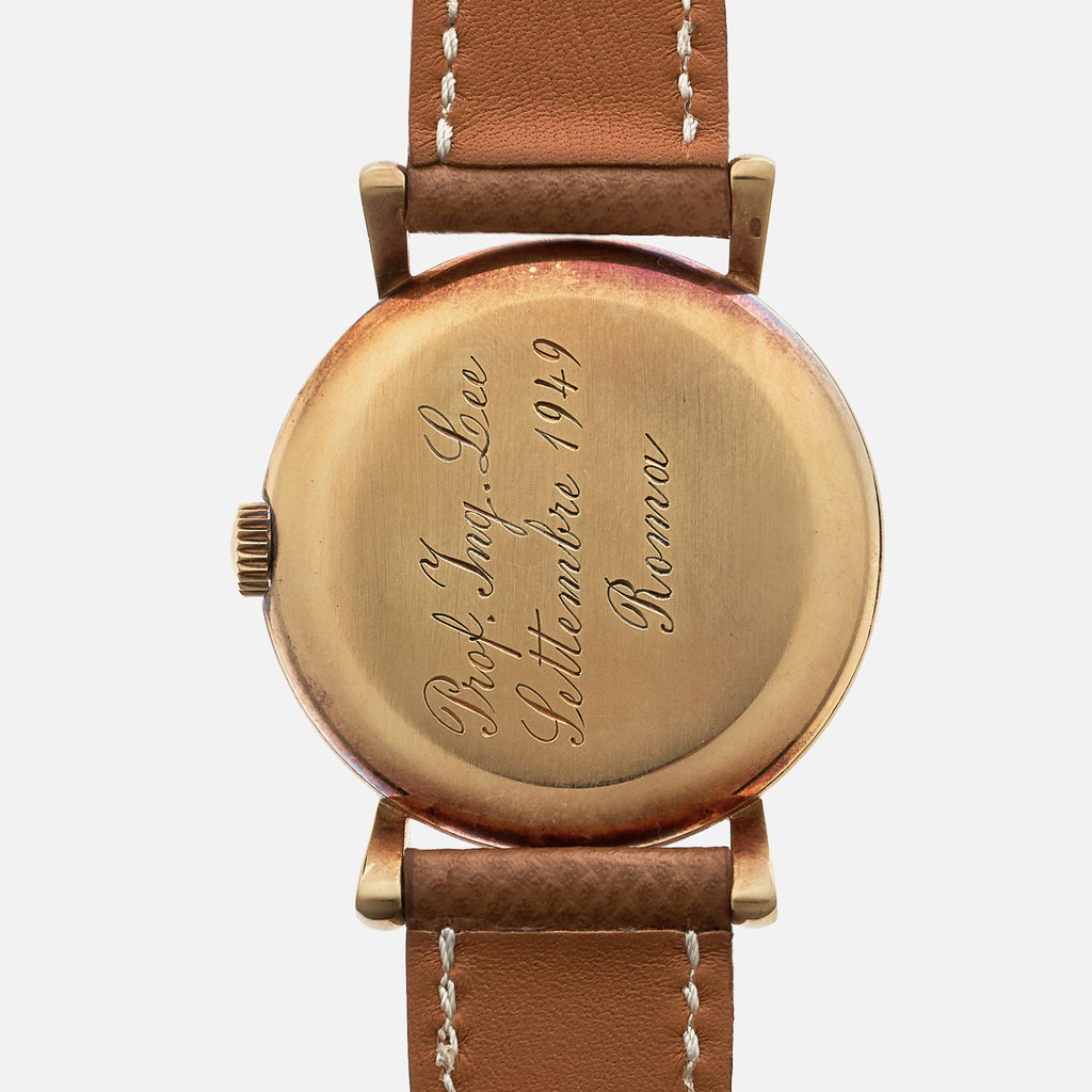 1949 Patek Philippe Calatrava Ref. 1543 With Hausmann & Co.-Signed Dial