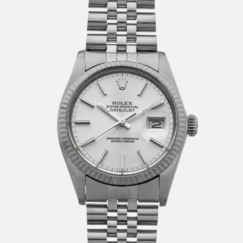 1984 Rolex Datejust Ref. 16014 In Steel