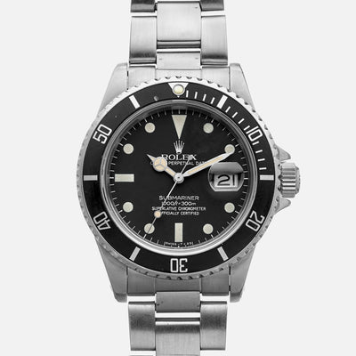 1983 Rolex Submariner Ref. 16800 With Matte Dial