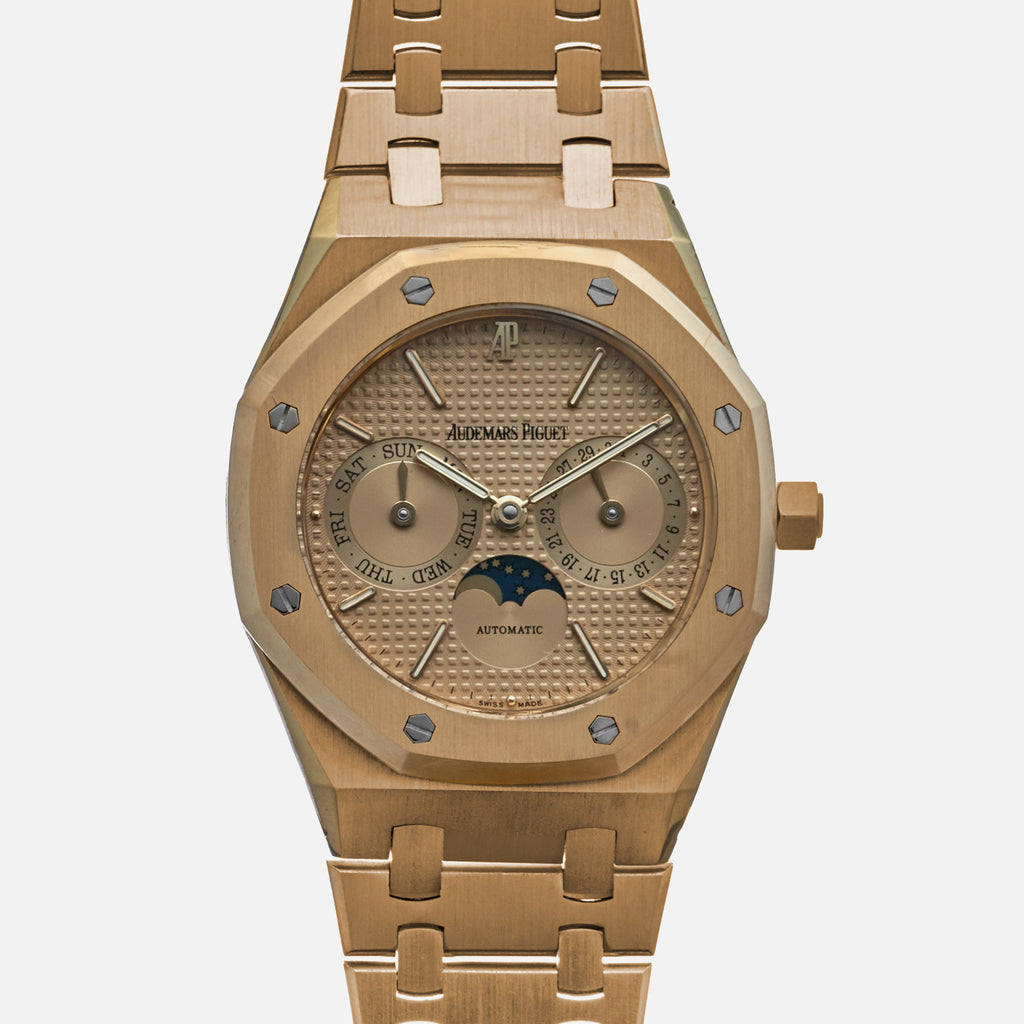 1990s Audemars Piguet Royal Oak Day Date With Moon Phase Ref. 25594.0.789