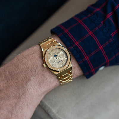 1990s Audemars Piguet Royal Oak Day Date With Moon Phase Ref. 25594.0.789 alternate image.
