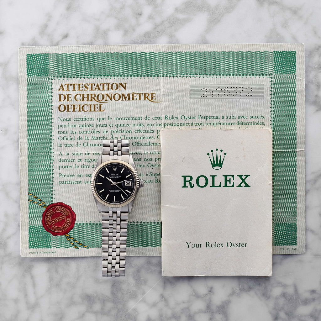 1970 Rolex Datejust Reference 1601