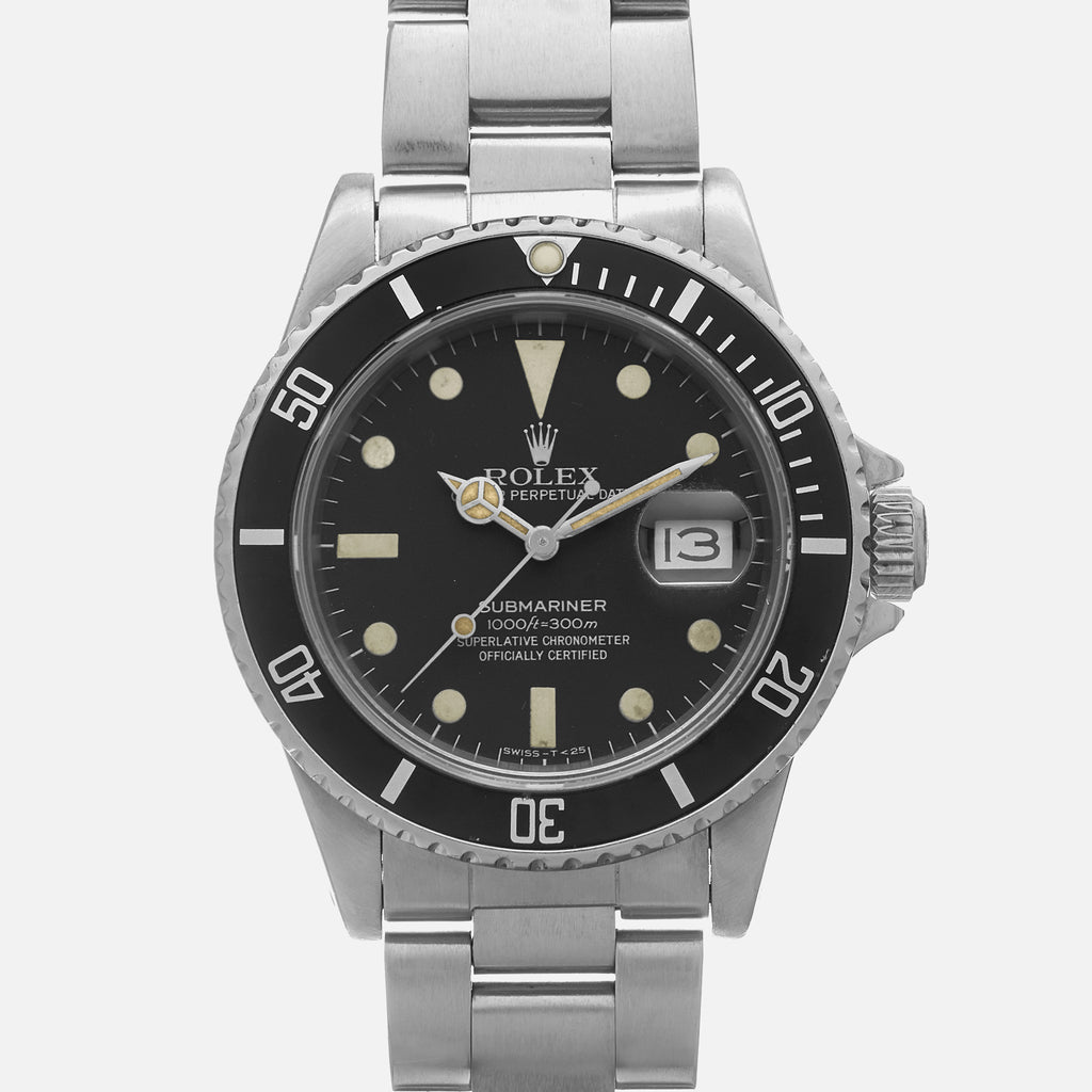 1982 Rolex Submariner Ref. 16800 With Matte Dial