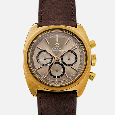 1973 Omega Seamaster Gold-Plated Chronograph Ref. MD145.029