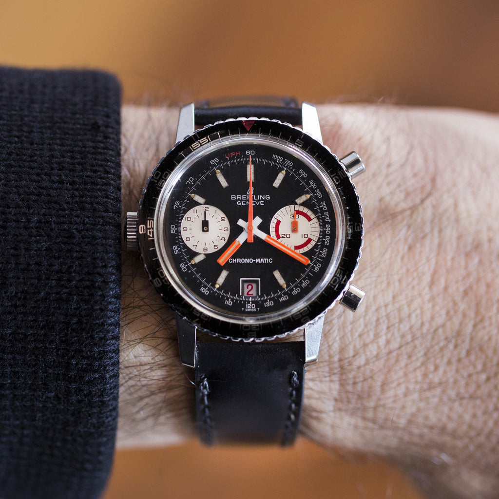 1970s Breitling Chrono-Matic Reference 2110