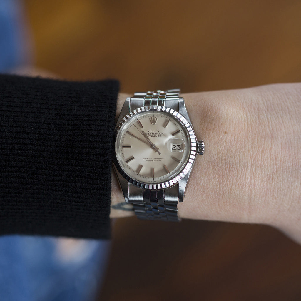 1970 Rolex Datejust Reference 1603 With No-Lume Dial